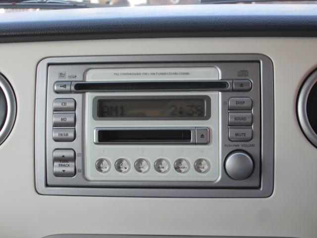 純正CD&MDオーディオ搭載してます!独自ローン有ります!0120−19−1190♪お気軽にご相談下さい!