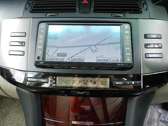 トヨタ マークX 250G Four 4WD 純正HDDナビ ETC