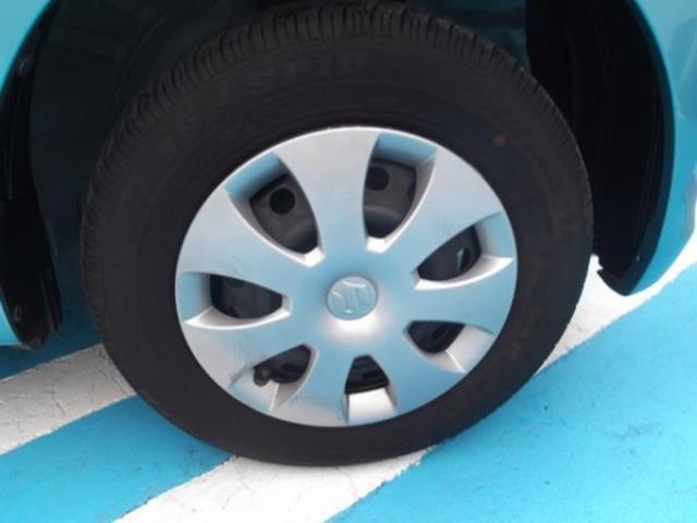 家計に優しいS社のワゴンR、人気のアクアベールブルー色で入荷。走行18000キロ台&シートアレンンジ豊富で使える軽。