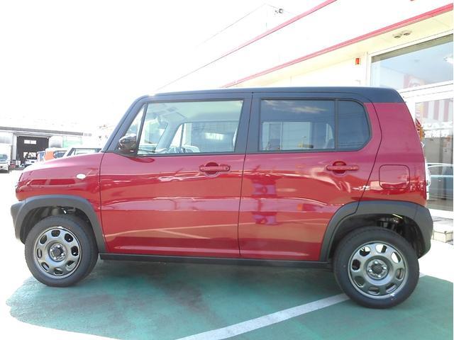 スズキ ハスラー G 4WD 黒2トンルーフ Sエネチャージ 届出済未使用車