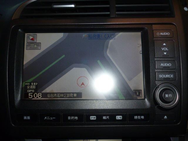 ホンダ ストリーム X HDDナビパッケージ HDDインターナビ ワンセグTV