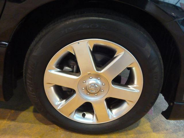 日産 エルグランド ハイウェイスター ブラックレザーリミテッド 4WD ETC