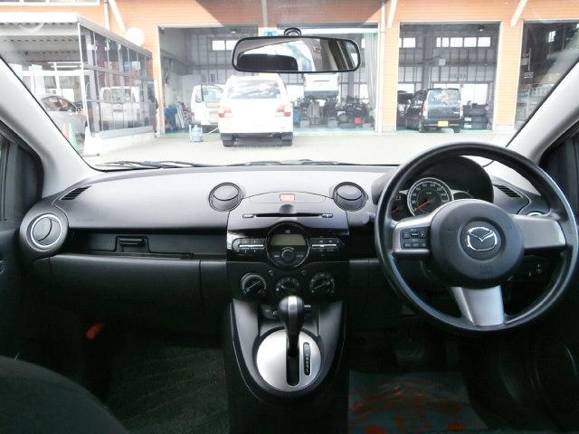 マツダ デミオ 13C 4WD キーレス ワンオーナー