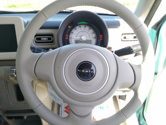 スズキ アルトラパン S 4WD 届出済未使用車 シートヒーター レーダーブレーキ