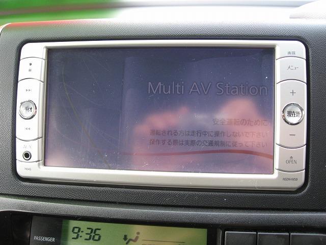 トヨタ ウィッシュ 1.8S 純正メモリーナビワンセグTV CD バックモニター