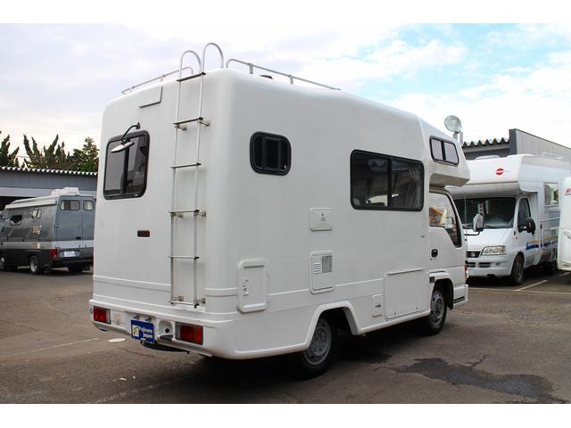 いすゞ エルフトラック キャンピング ヨコハマモーターセールス OX 4WD