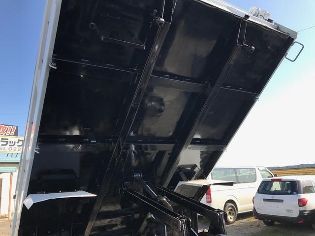 三菱ふそう ファイター 強化ダンプ 自動シート付