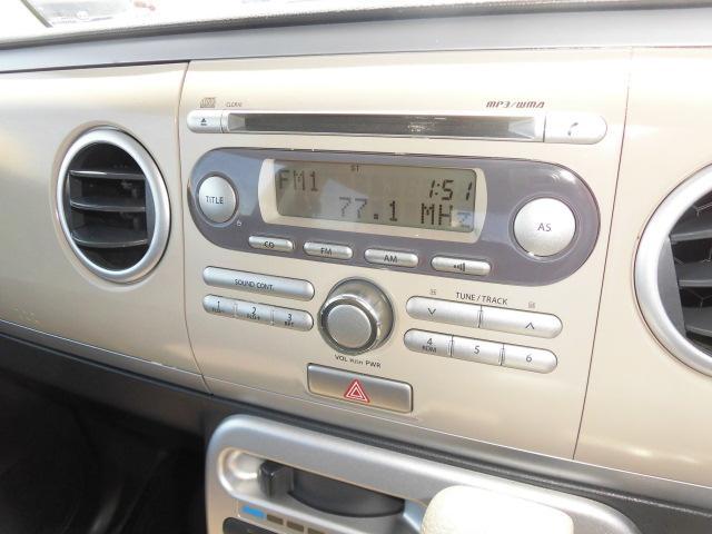 スズキ アルトラパン X ホワイト2トーンルーフ 純正CD  純正ホワイトアルミ
