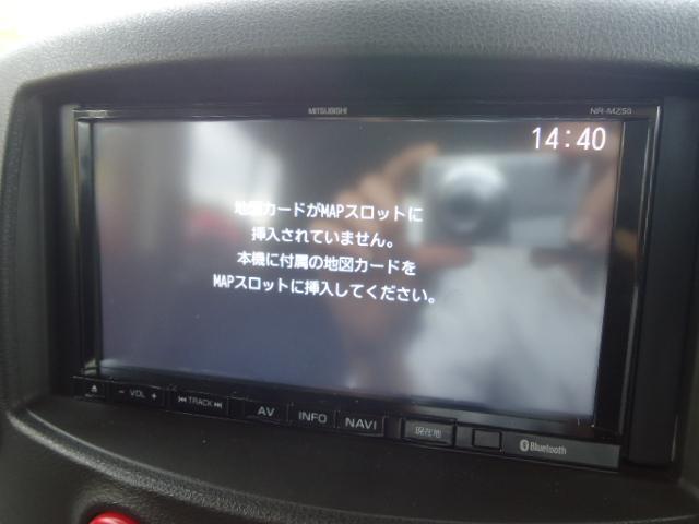 日産 キューブ 15X 社外SDナビ DVD再生 インテリキー Aストップ