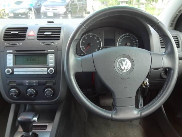 フォルクスワーゲン VW ゴルフ GT エアバッグ 純正CD