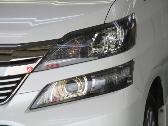トヨタ ヴェルファイア 2.4Z ゴールデンアイズ HDDナビフルTVフリップダウン
