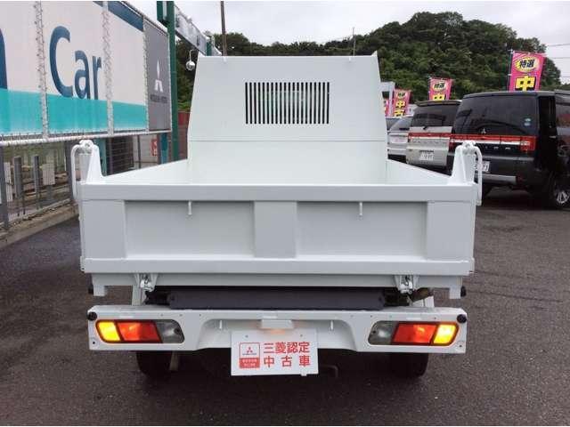 三菱 ミニキャブトラック 天突ダンプPTO 4WD 三菱認定中古車