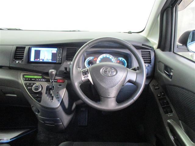 トヨタ アイシス プラタナリミテッド 4WD HDDナビ 両側パワースライドD