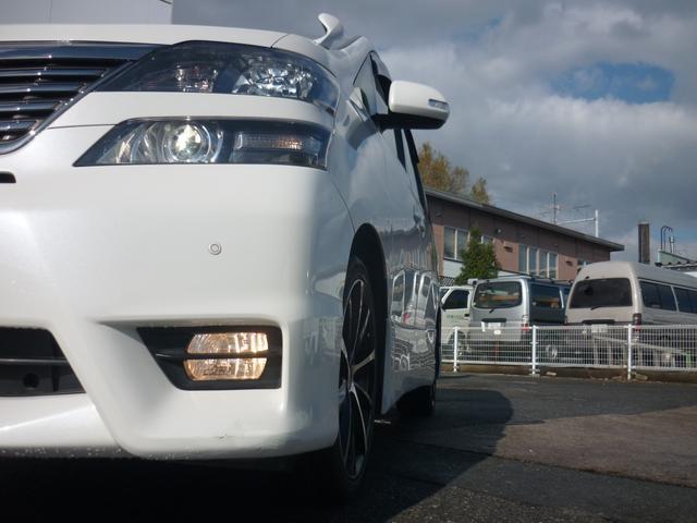 トヨタ ヴェルファイア 2.4Z プラチナムセレクション デュアルパワースライドドア