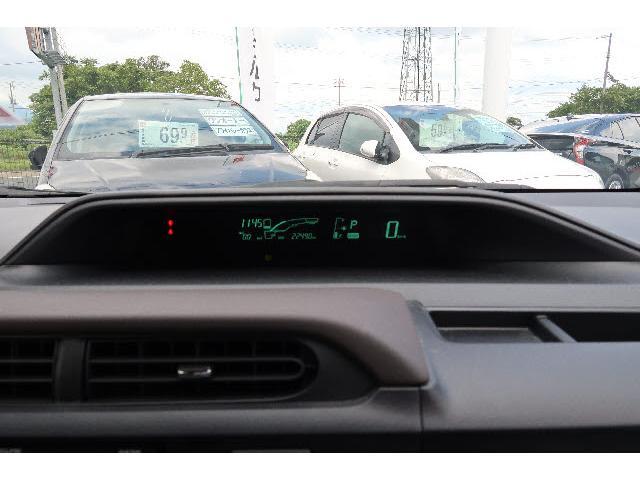 トヨタ アクア G イクリプス製フルセグSDナビ 本革ステア オートAC