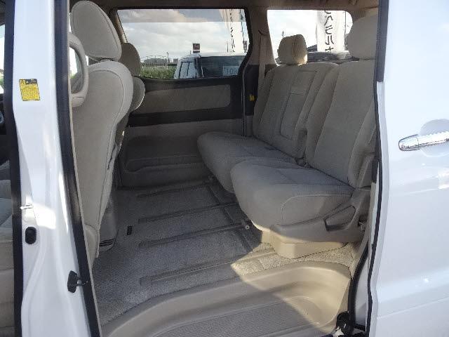 トヨタ アルファードG AX L ED 4WD 純正HDDナビフリップダウンモニター