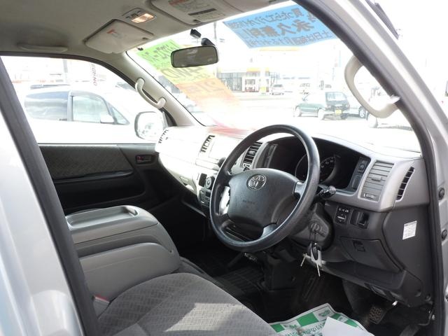 トヨタ レジアスエースバン ロングスーパーGL 4WD 純正ナビ ワンセグTV付き