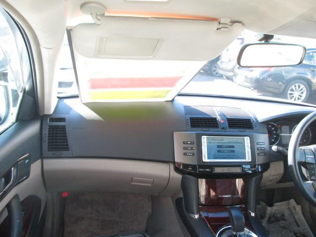 トヨタ マークX 250G Four 4WD 純正DVDナビ