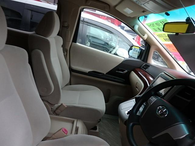 トヨタ アルファード 240X 4WD 純正HDDナビ 左側電動スライドドア