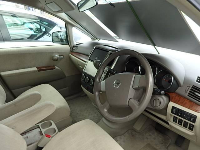 日産 プレサージュ 250XL 4WD 純正DVDナビ 左側電動スライドドア