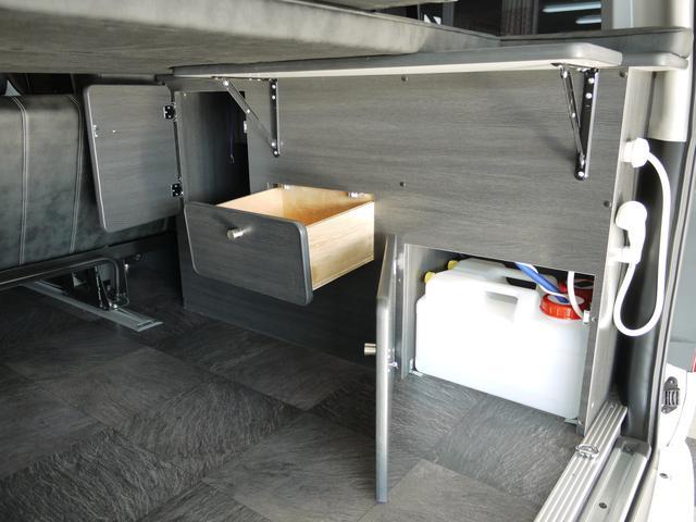 トヨタ ハイエースバン SロングワイドDX GLパッケージ4WD キャンピング車