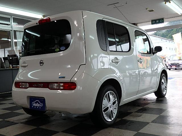 日産 キューブ 15X Vセレクション キセノンライト ワンオーナー 禁煙車