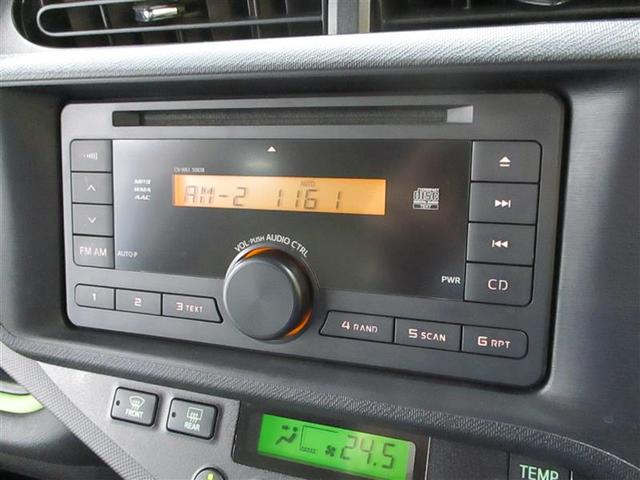トヨタ アクア S キーレス CD