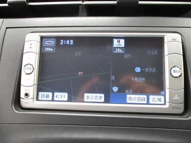 トヨタ プリウス S メモリーナビ ワンセグTV