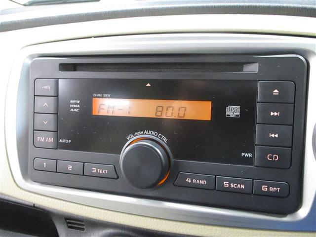 トヨタ ヴィッツ F スマートストップパッケージ CD キーレス