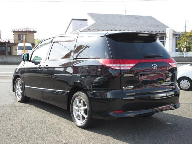 トヨタ エスティマ アエラス 4WD スマートキー 両側パワースライドドア