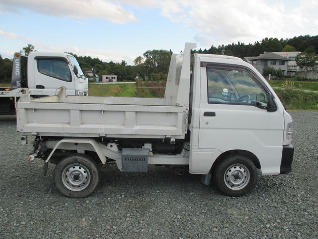 ダイハツ ハイゼットトラック 4WD PTOダンプ