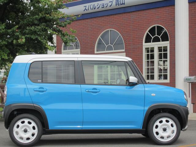 スズキ ハスラー G 4WD CVT 届出済み未使用車