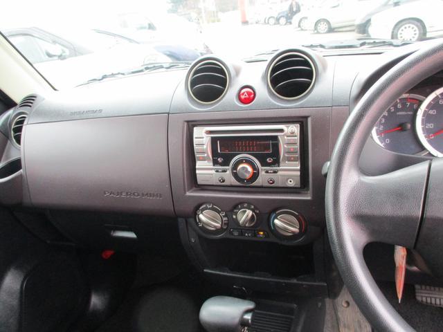 三菱 パジェロミニ VR ターボAT 切替4WD キーレス  CD  電格ミラー