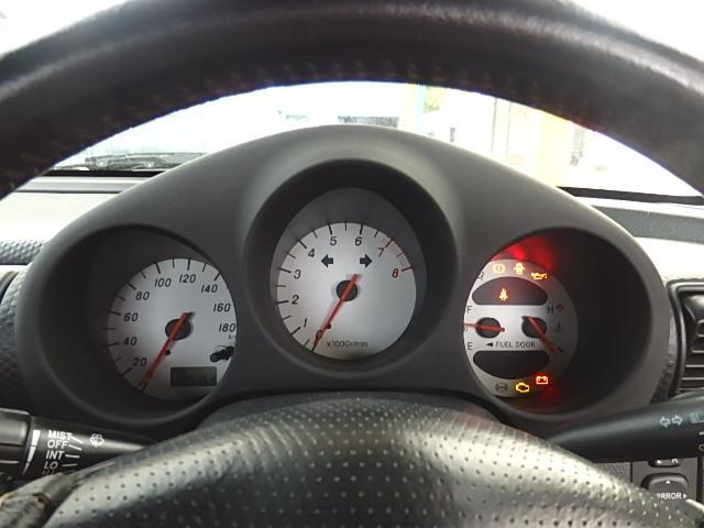 トヨタ MR-S Sエディション 5速マニュアル 幌 15AW