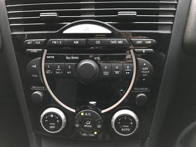 マツダ RX-8 ベースグレード 純正DVDナビ 5速マニュアル