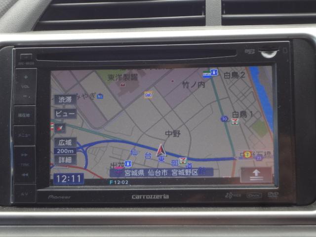 トヨタ ラクティス G Sパッケージ 社外ナビDTV EGスターター 純正エアロ
