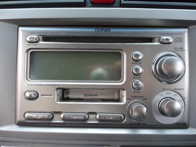 ホンダ ゼストスパーク Wターボ ワンオーナー スマートキー 純正CD