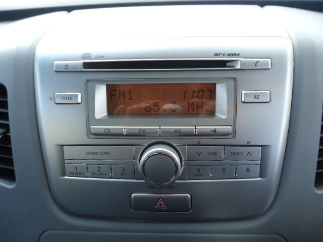 スズキ ワゴンR FXリミテッド 純正CD スマートキー プッシュスタート