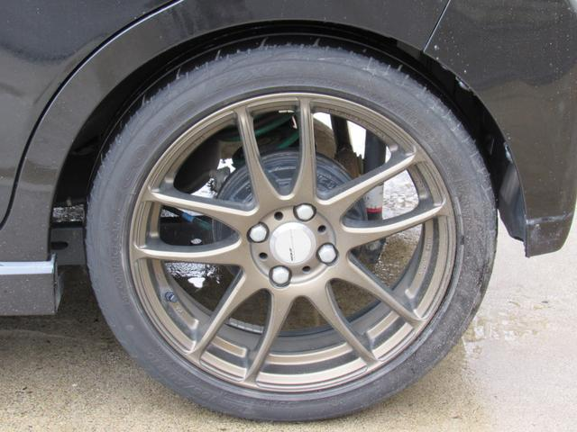 WORKのエモーション!タイヤサイズは165/50R16!お好みのホイール、タイヤにする事も可能です!一度ご相談下さい。