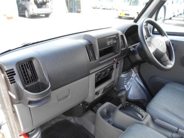 三菱 ミニキャブバン CD 切替式4WD エアコン パワステ 集中ドアロック