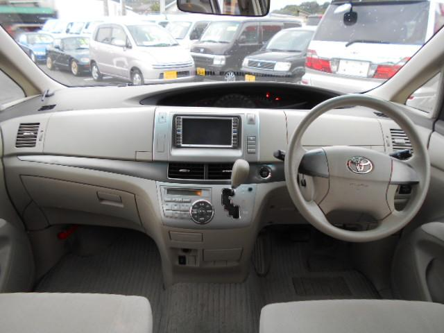トヨタ エスティマ X 2.4 4WD パワスラ スマートキーBカメラTチェーン
