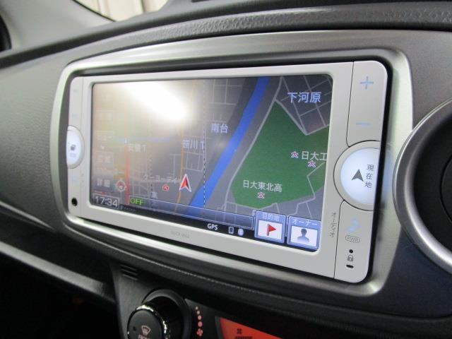 トヨタ ヴィッツ F スマイルエディション 純正メモリーナビ ワンセグ