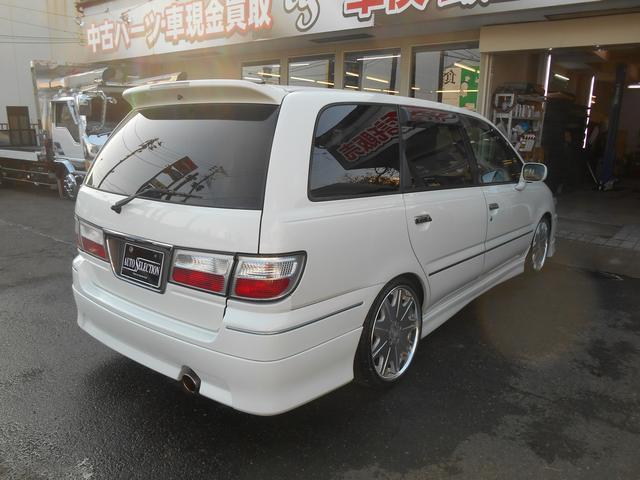 日産 プレサージュ ライダー4WD 7人乗 純正ナビ