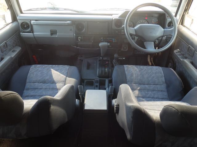 トヨタ ランドクルーザー70 ZX前後リーフ最終型前後デフロック76フェイスサンルーフ