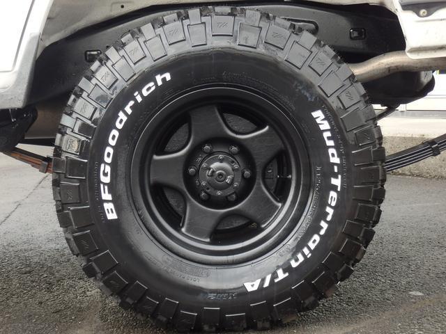 トヨタ ランドクルーザー70 LX後期型前後リーフ前後デフロック5速MTフル装備新品タイヤ