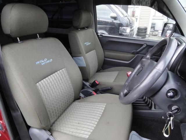 スズキ ジムニー ワイルドウインド 4WD リフトアップ 5速マニュアル