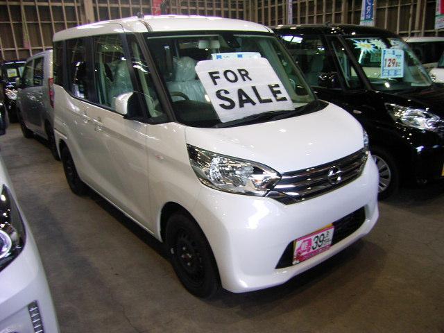 当店は弘前初の軽39.8万円専門店です!オールメーカー39.8万円を中心とした価格設定!諸費用もお得なパック方式なのでご予算の中でお車をお選びいただけます♪