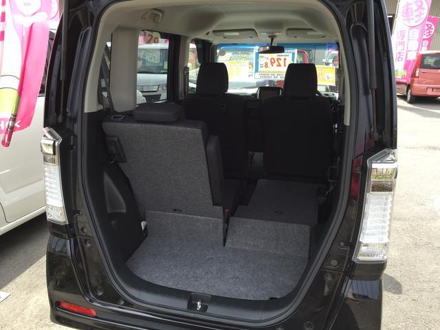 例えば後ろに一人乗る場合でもこのように収納スペースが★