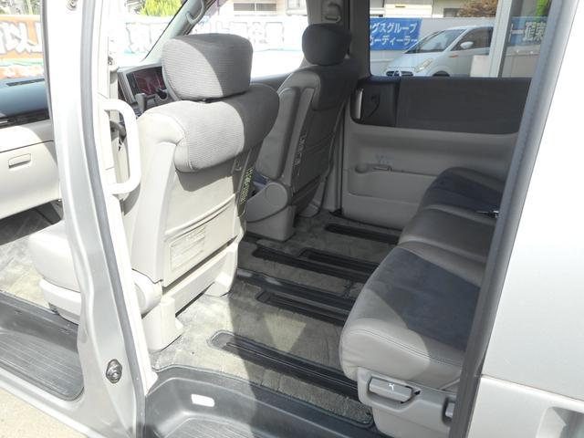 日産 エルグランド ハイウェイスター4WD 純正DVDナビ ツインモニター