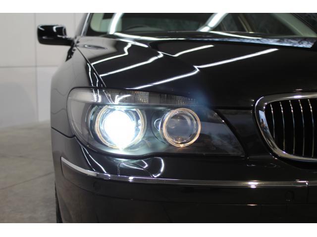 BMW BMW 750i 純正HDDナビ サンルーフ 本革シート キセノン